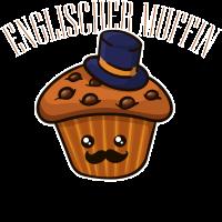 Muffin England Gesicht Törtchen Lustig Spruch