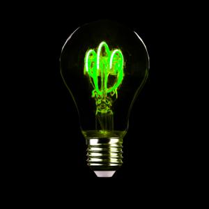 Glühbirne! Geschenk Licht Idee intelligent schlau