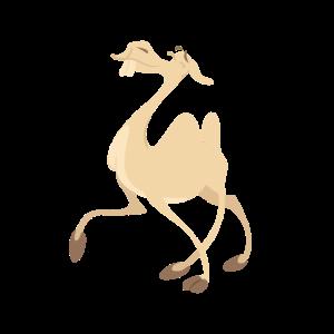 Betrunkenes Kamel
