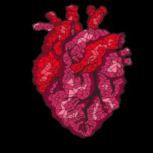 Art Heart Geometrie
