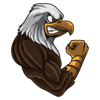 Eagle At The Gym | Work Out Fitness Muskeln Kraft