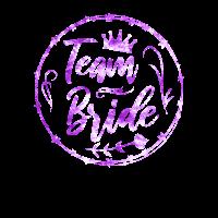 Team Bride | JGA Braut Hochzeit Party Geschenk