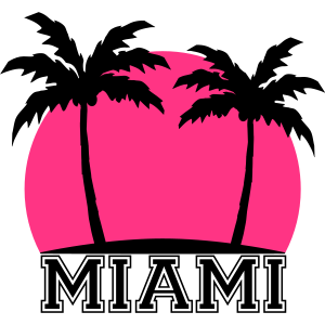 Miami Beach Palms Design
