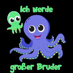 Ich werde großer Bruder Krake Octopus