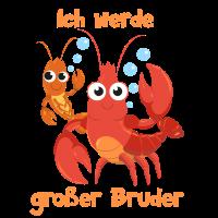 Ich werde großer Bruder - Krabbe - Krebs