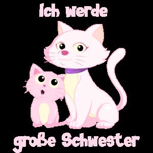 Ich werde große Schwester - Katze - Katzen
