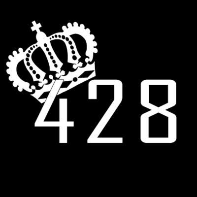 428 mit Krone - 428 Logo mit Krone - Rüsselsheim,Logo,Krone,428