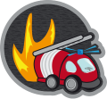 Motif Pompier