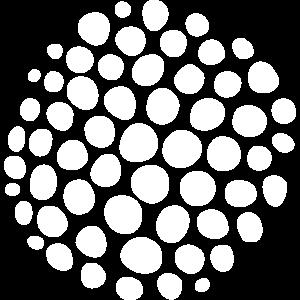 Kreis bestehend aus vielen Kreisen