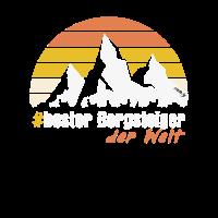 Bester Bergsteiger T-Shirt Wandern Bergsteigen