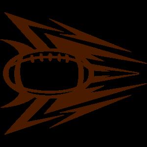 Rugby-Ball-Logo-Geschwindigkeit 1
