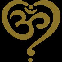 OM Symbol Herz Yoga Liebe Spiritualität Meditation