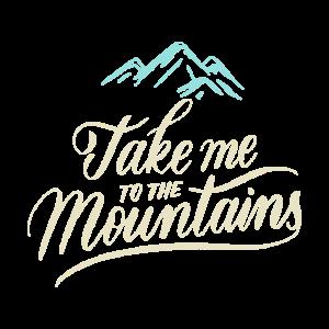 Berge - Bergwandern - mountains - Shirt