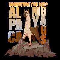 Alpaka My Bags Abenteuer Wandern Berge Ausflug