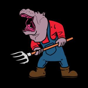 Farmer Hippo