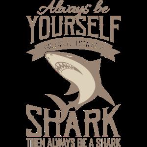 Hai Shark Week Sei ein Hai Tauchen Geschenk