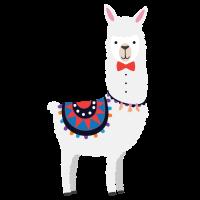 Llama Gentleman
