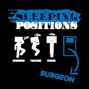 Chirurg Schlafen