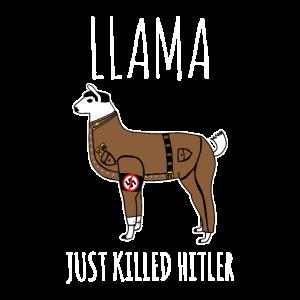 Llama Militär- Tier Geschenkidee