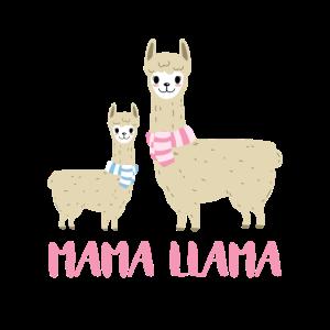 Mama Llama - Lama-Liebhaber Geschenkidee