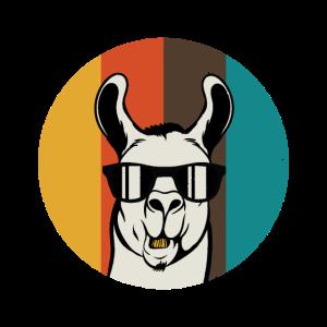 Lama-Weinlese-Tierlustiger Spaß Geschenkidee