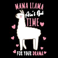 Mama Llama Drama Niedlicher Tierliebhaber Geschenk