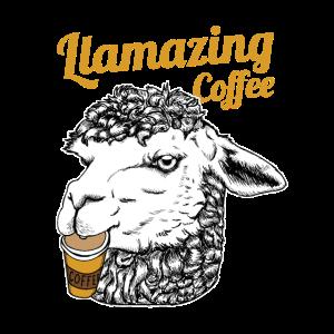 Llamazing Kaffee Erstaunlicher Lama Geschenkidee