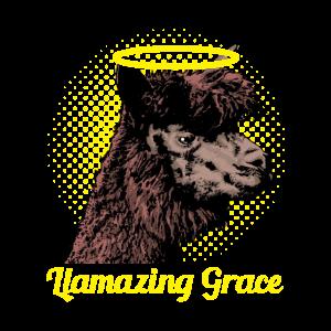 Llamazing Grace Lustig Lama Tier Geschenkidee
