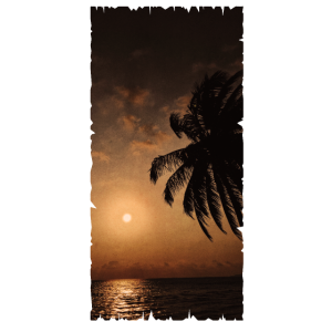 Vintage - Sonnenuntergang
