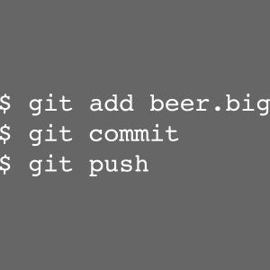 Bier Git Befehle Geschenk für Informatiker