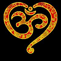 Yoga Herz OM Symbol Liebe Spiritualität Meditation
