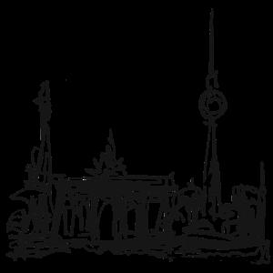 Berlin, Brandenburger Tor, Berliner Fernsehturm