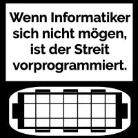 Informatiker streiten