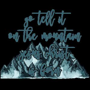 Sag es auf dem Berg