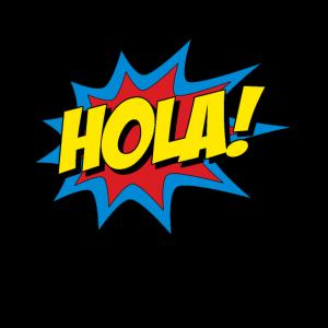 Hola spanischer Superheld