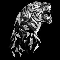 tiger dotwork