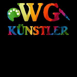 WG Kuenstler Freunde und Familie Shirts