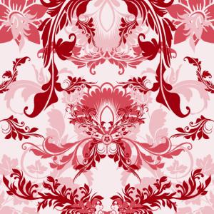 Florale Ornamente Muster rwi