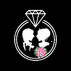 Hochzeitspaar Brautpaar Diamantring