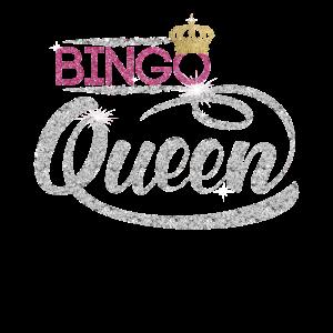Bingo-Königin Bingo-Spieler-Diamant-Geschenk