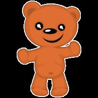 tier baby teddy bär