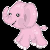tier baby elefant