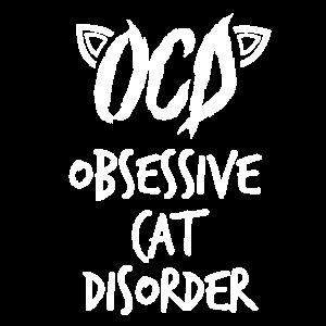 obsessive cat disorder - Katzen - Shirt