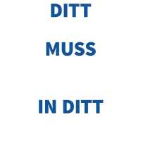 Ditt Runde Muss in Ditt Eckige - Fußball Zitat