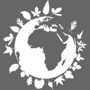 leaf globe white