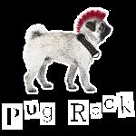 pug rock rot-weiss