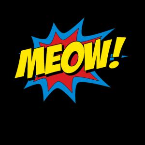 Süße Katze Meow