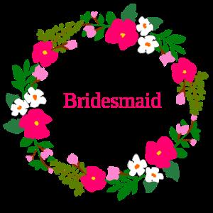 blumenkranz bridesmaid