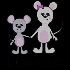 """süße Maus Geschwister """"Little sister"""""""