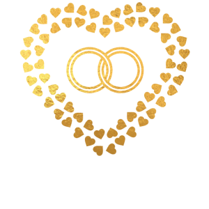 Golden Ring in Hearts - Wedding Shirts